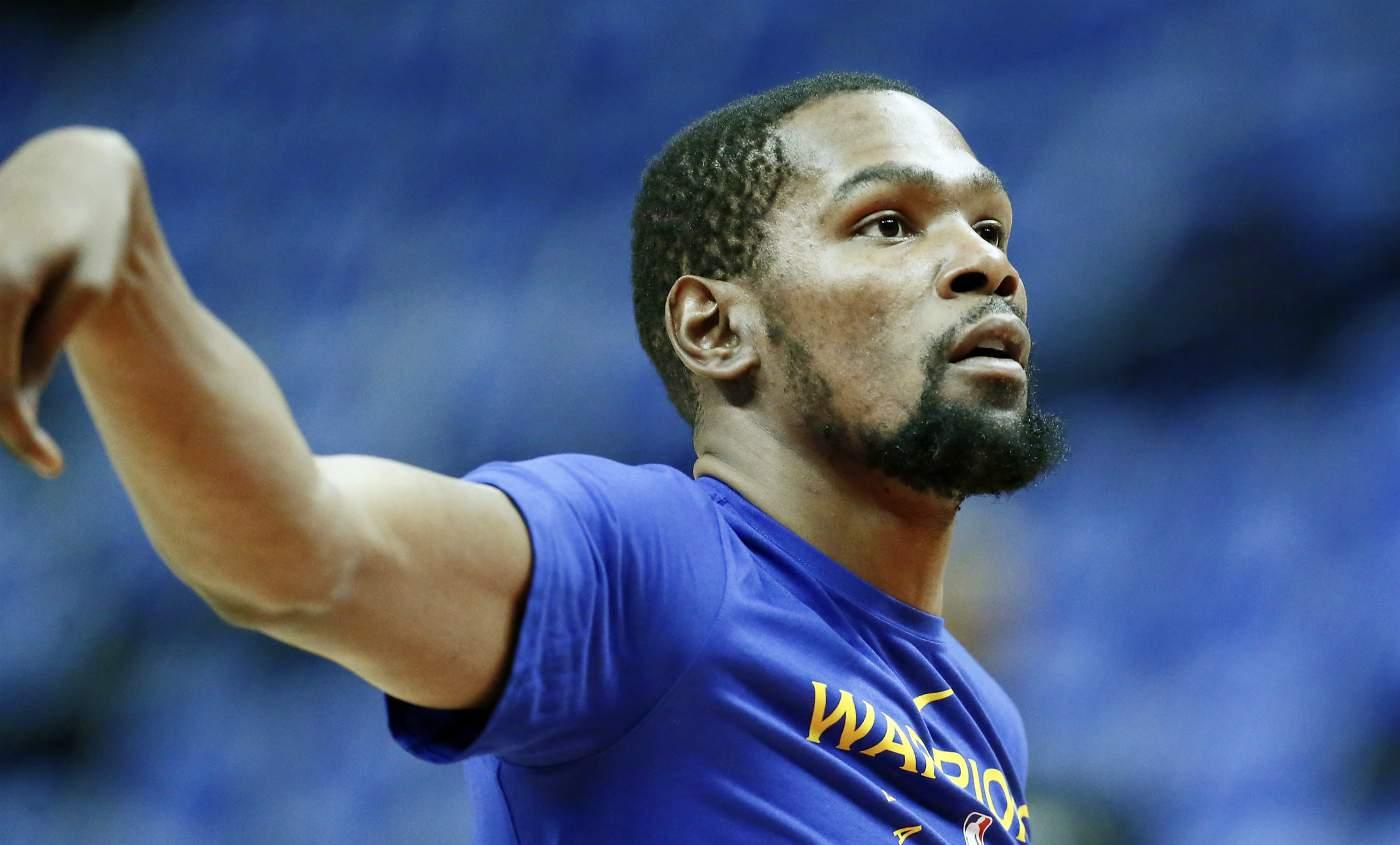 Kevin Durant est forfait pour le game 1 mais proche du retour