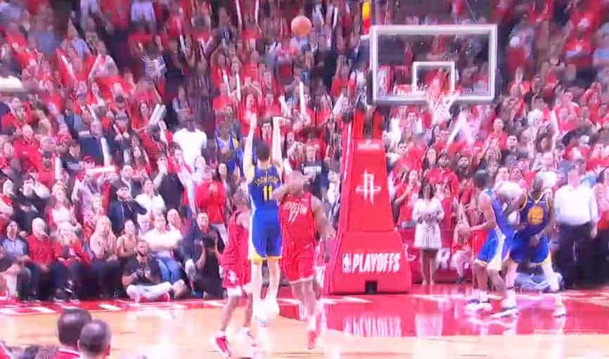 La superbe action des Warriors qui a coulé Houston