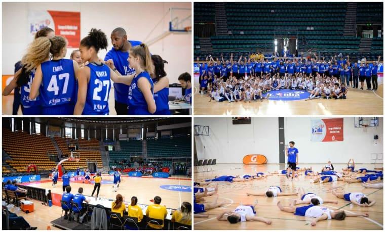 La belle semaine NBA Jr à Bologne avec Boris Diaw