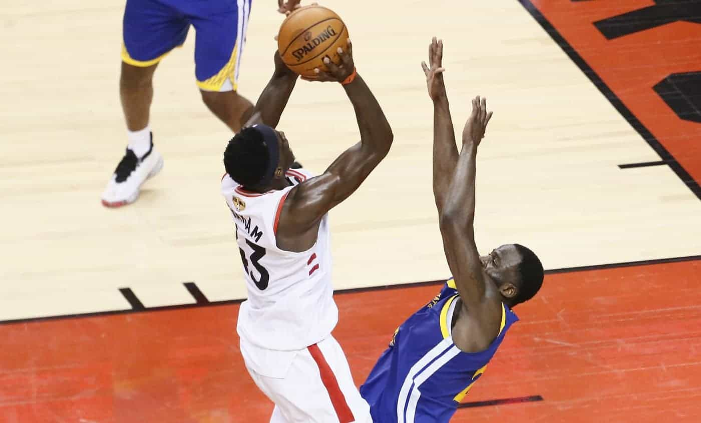 Les Raptors partent fort et font plier les Warriors dans le game 1