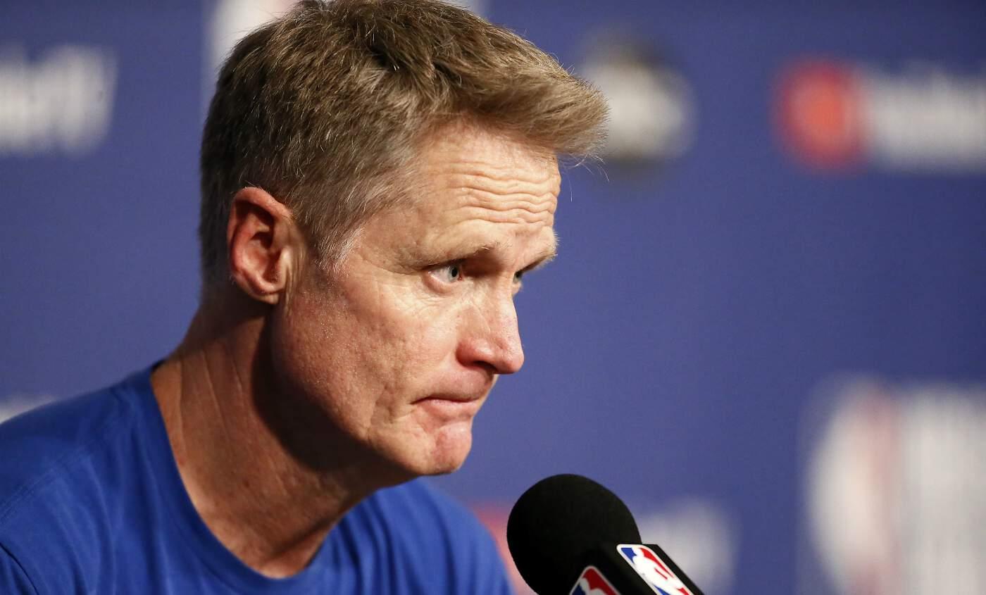 Steve Kerr sentait la saison galère avant la blessure de Curry