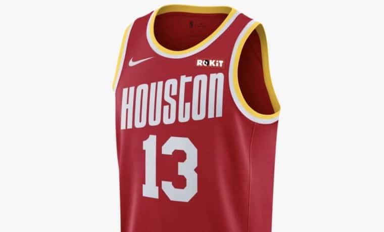Houston Rockets : les nouveaux maillots dévoilés