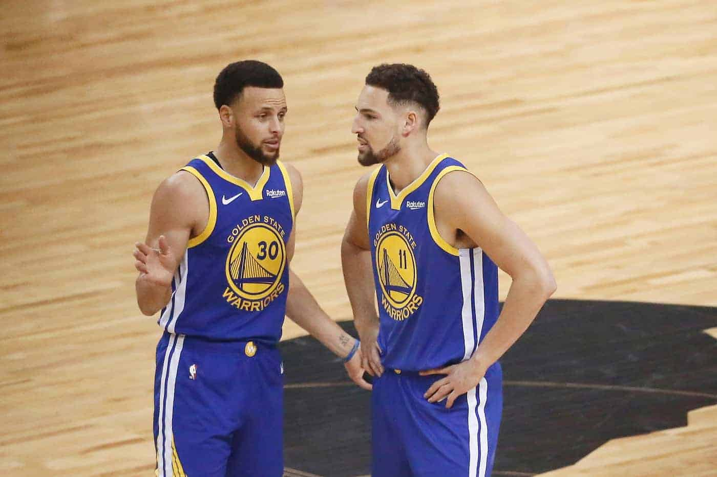 NBA Stephen Curry Klay Thompson Golden State Warriors H.O.R.S.E. NBA