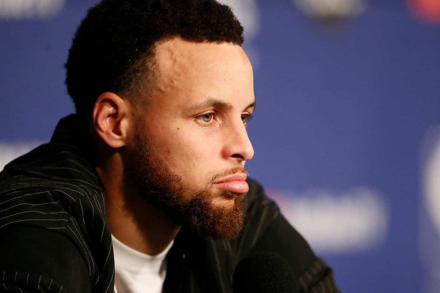 Stephen Curry refuse d'avoir peur de la pression