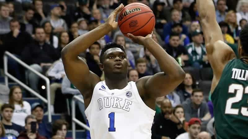 Zion Williamson au shoot