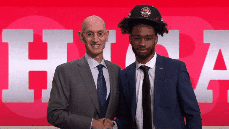 Coby White Draft