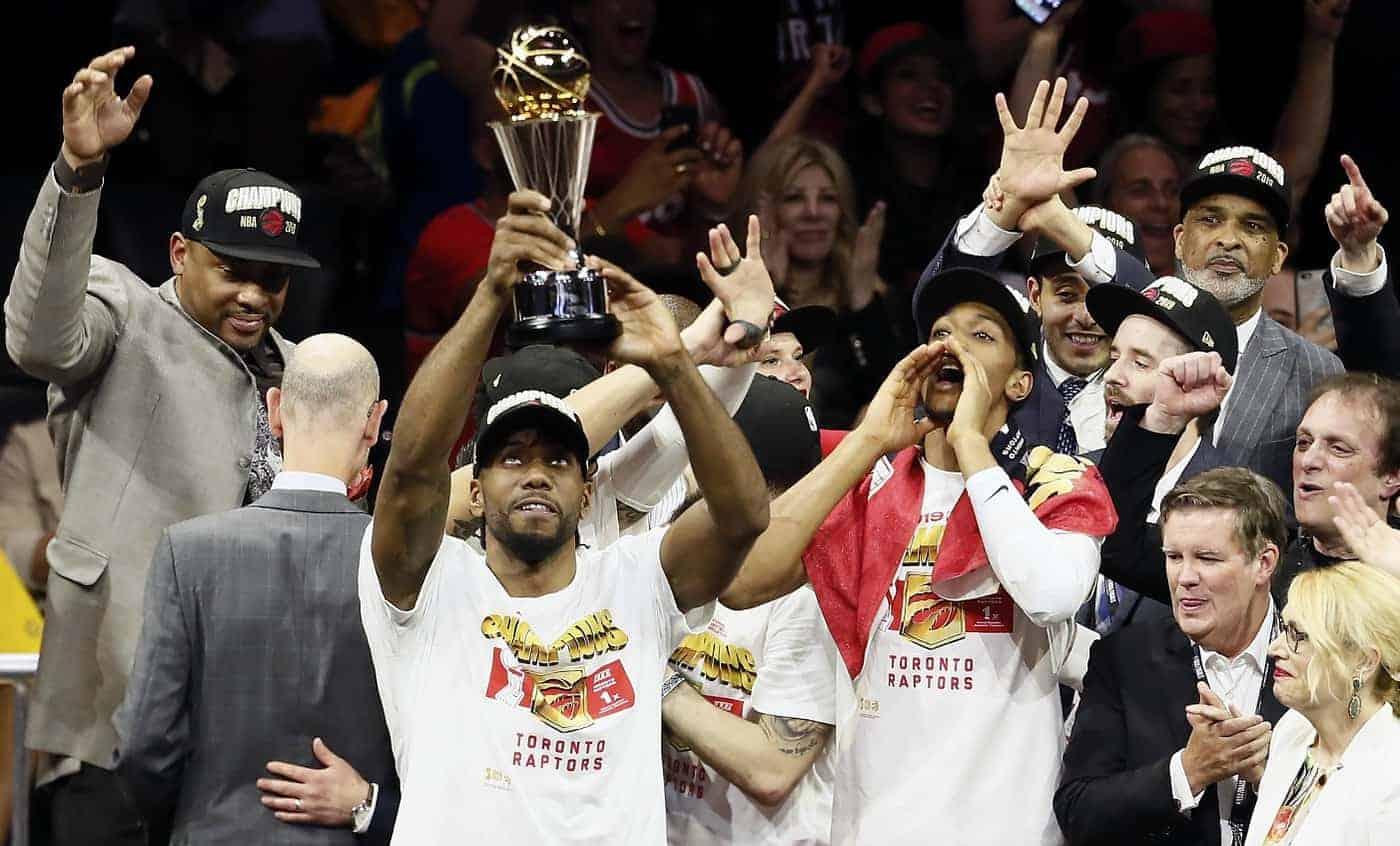 Kawhi Leonard est le MVP des Finales