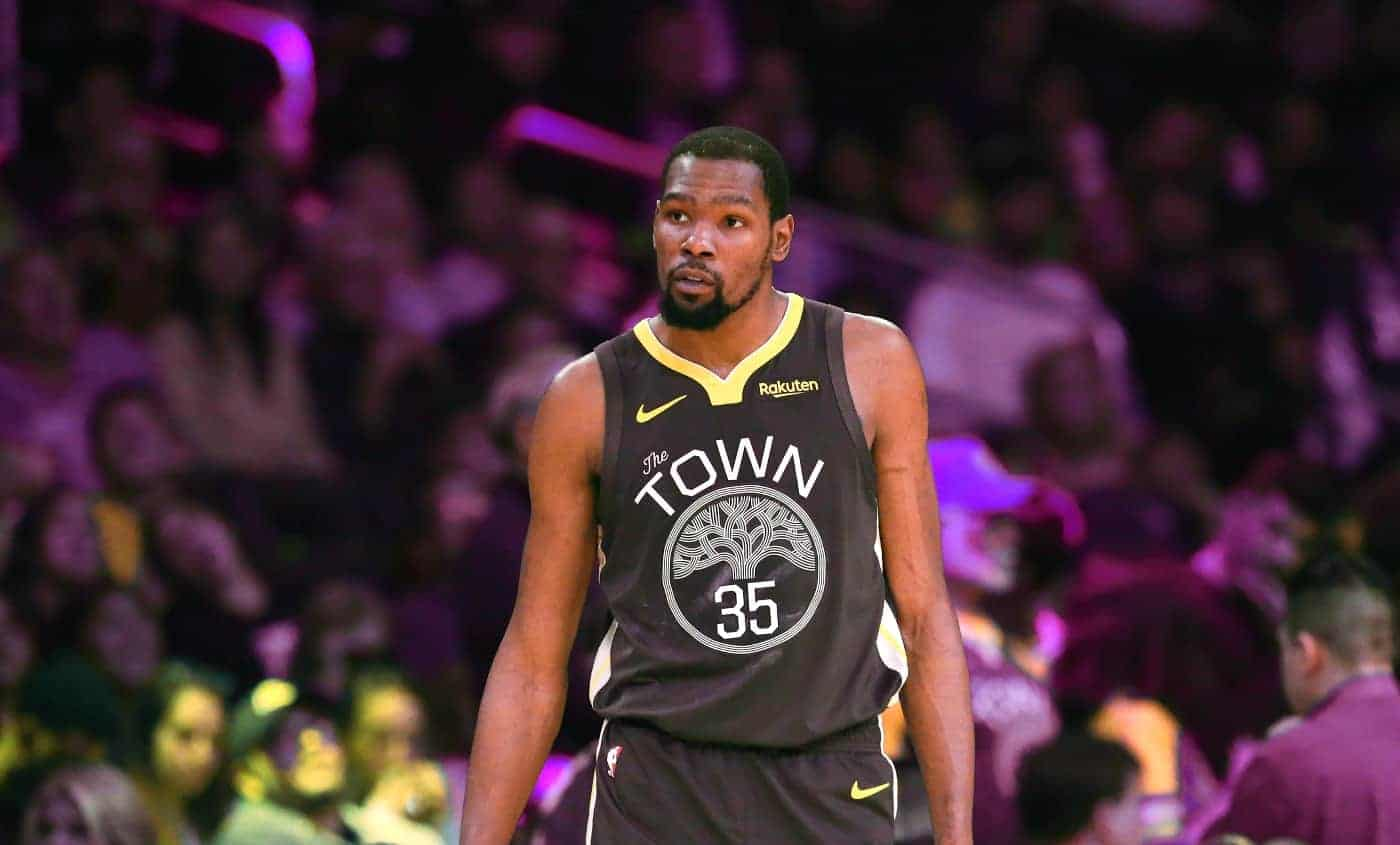 En hommage à Kevin Durant, le n°35 ne sera plus disponible aux Warriors