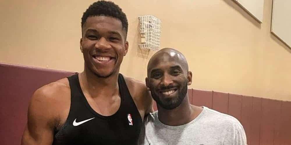 Kobe avait défié Giannis d'être MVP, voilà son nouveau challenge