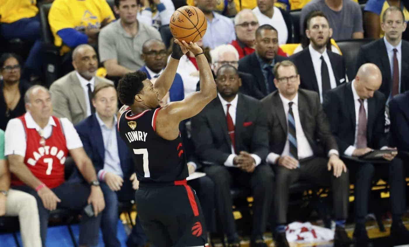 Kyle Lowry Game3 Finales NBA