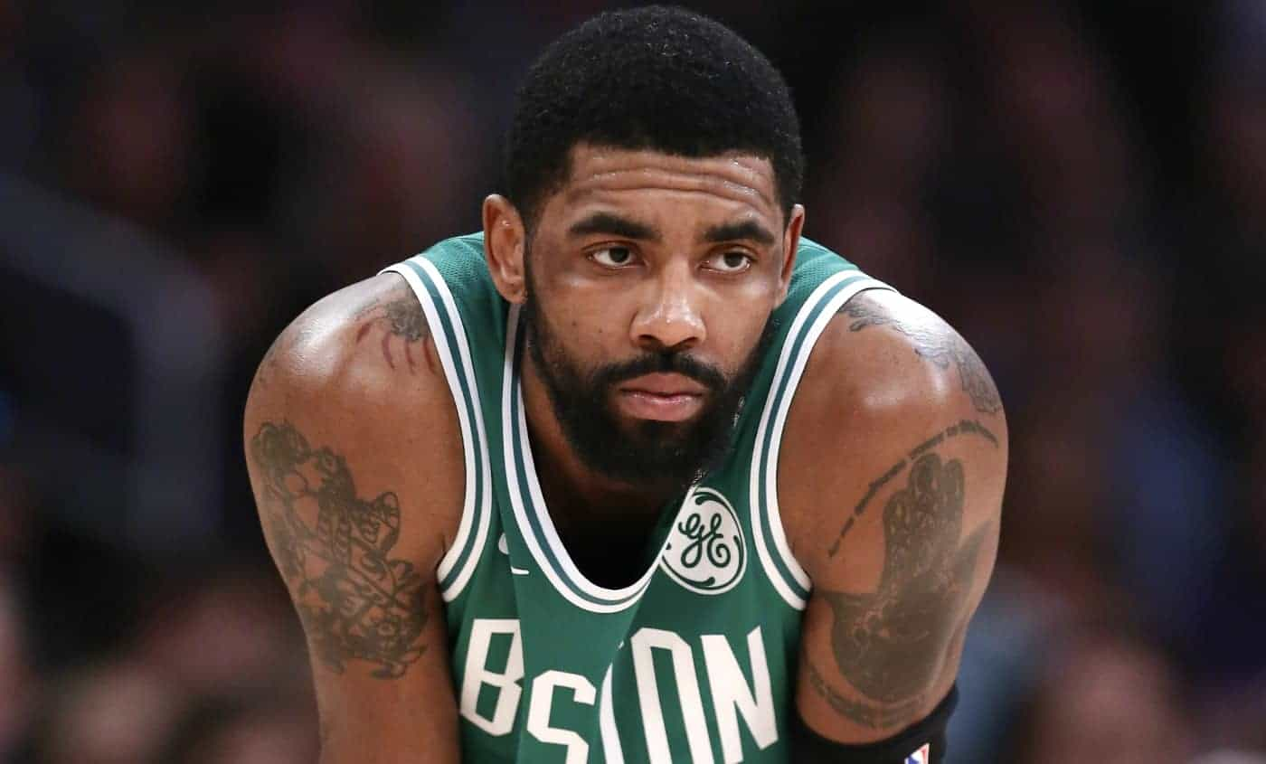 Kyrie Irving « penche fortement » pour les Brooklyn Nets