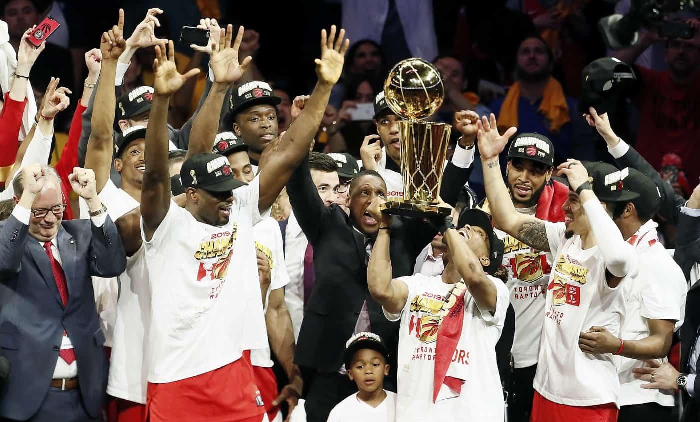 Les Raptors au paradis, premier titre NBA pour Toronto !