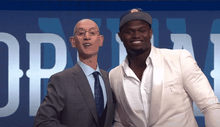 Zion Williamson Draft