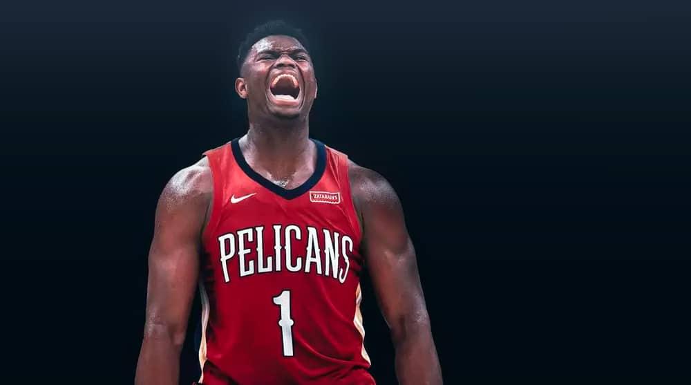 Où se situent les débuts de Zion par rapport aux légendes NBA ?
