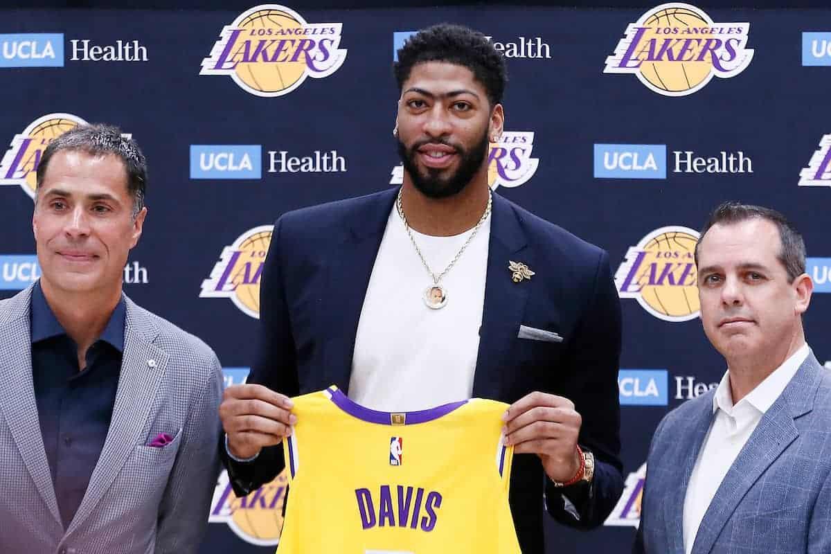 LeBron et Davis ont été consultés sur chaque décision des Lakers
