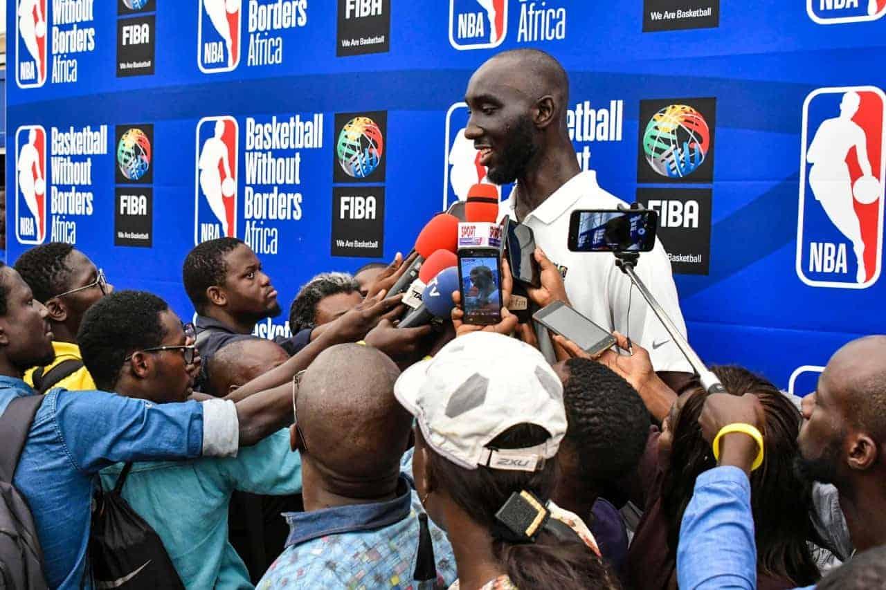 Tacko Fall et l'influence des joueurs africains passés par la NBA
