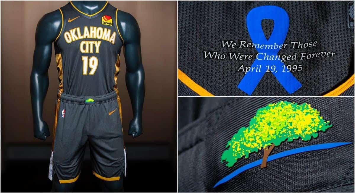 Le Thunder dévoile son nouveau maillot City