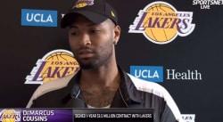 Les Lakers ont reçu l'autorisation pour remplacer DeMarcus Cousins