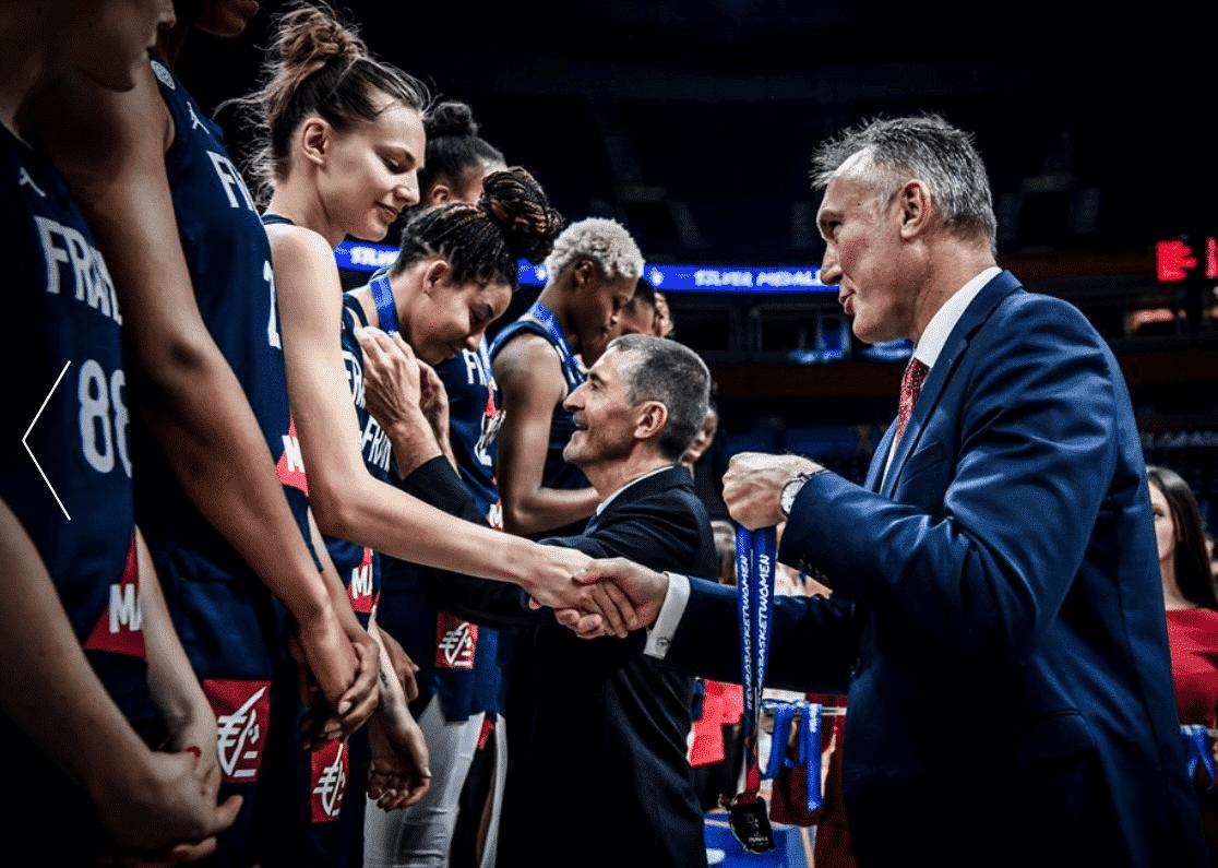 La France organisera l'Eurobasket féminin 2021 avec l'Espagne