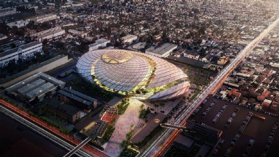 Les Clippers présentent leur magnifique nouvelle salle, livrée en 2024