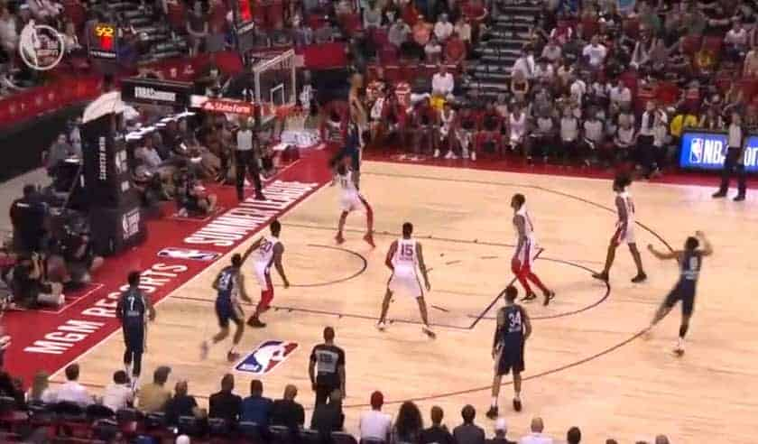 Summer League : Jaxson Hayes claque un poster indécent !