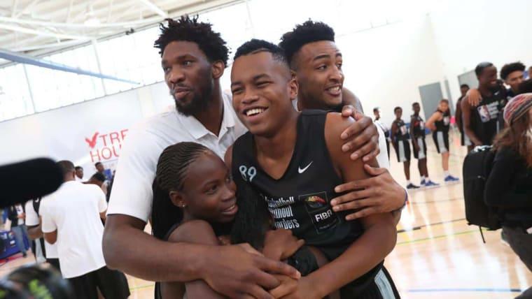BWB Afrique : Embiid, Bosh and co au Senegal pour le camp 2019