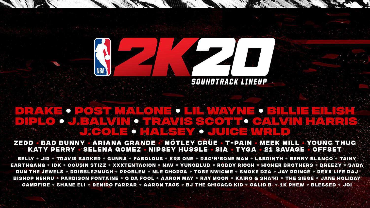 NBA2K20 : Et si votre morceau était choisi pour la playlist ?