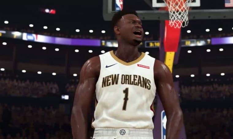 Zion Williamson signe un partenariat avec NBA2K
