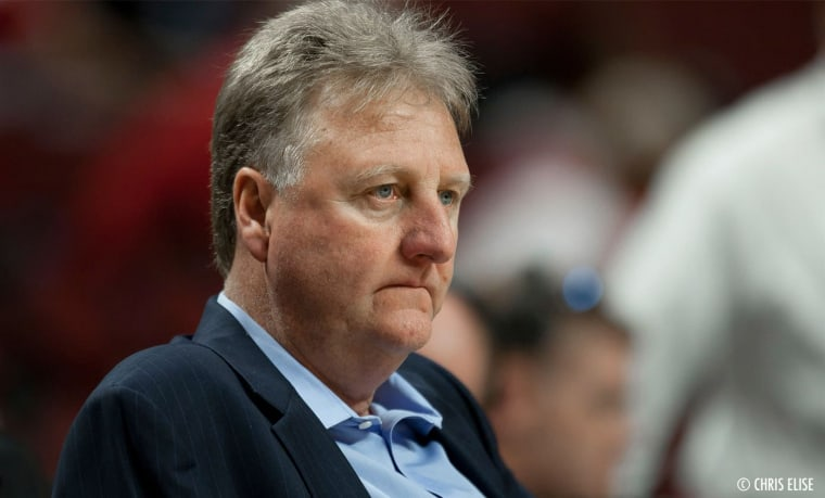 Larry Bird directement visé par Paul George ?