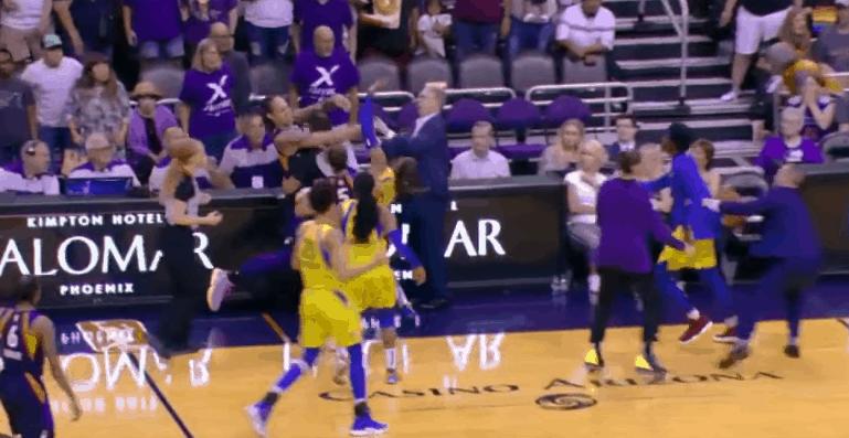 Plusieurs joueuses expulsées après une bagarre en WNBA