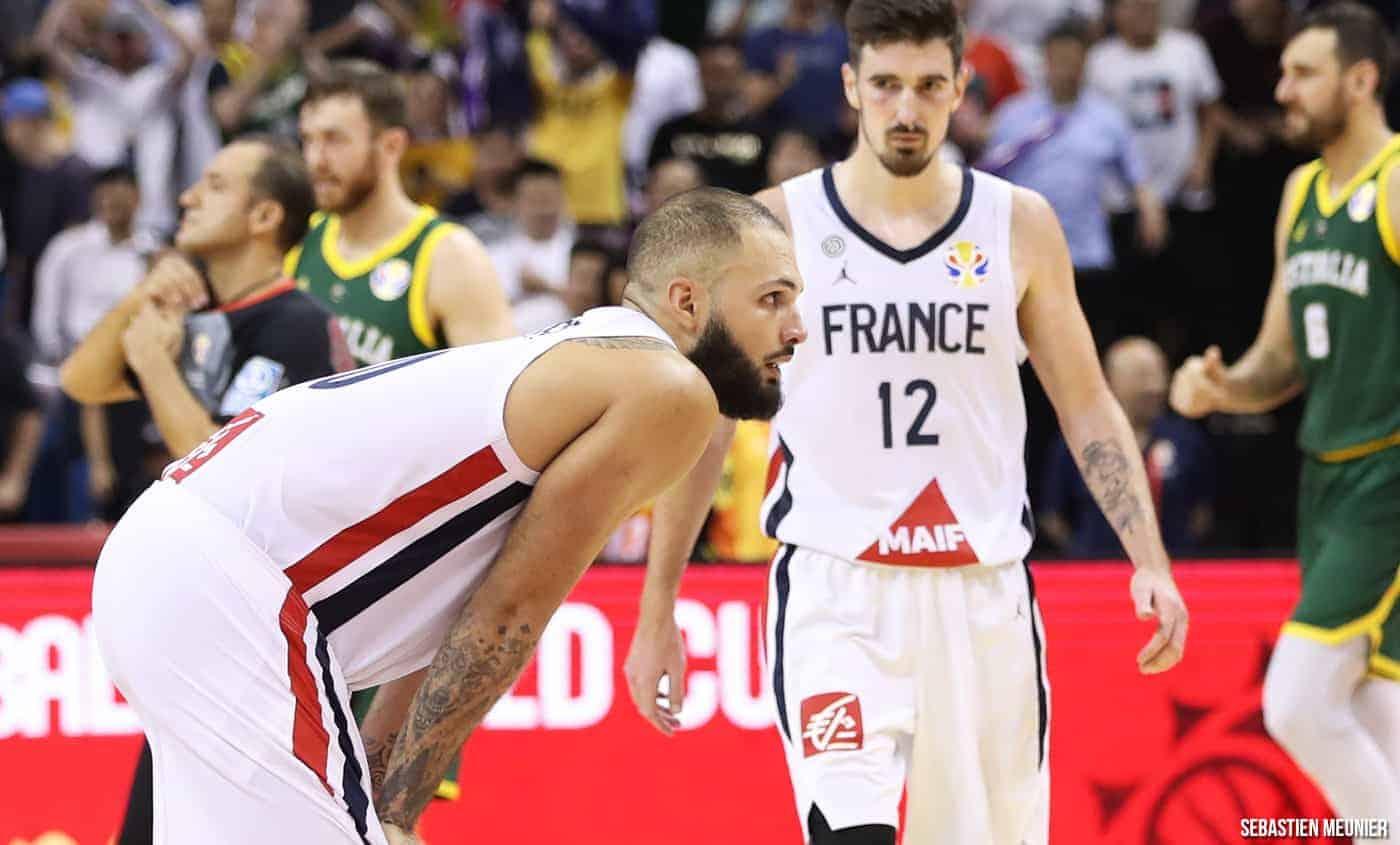 La France perd cruellement contre l'Australie et affrontera Team USA