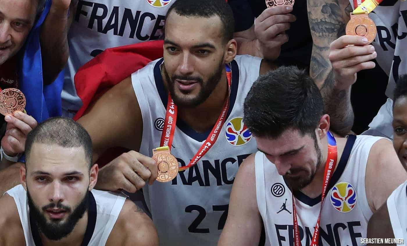 Rudy Gobert tout de même très fier de la médaille de Bronze