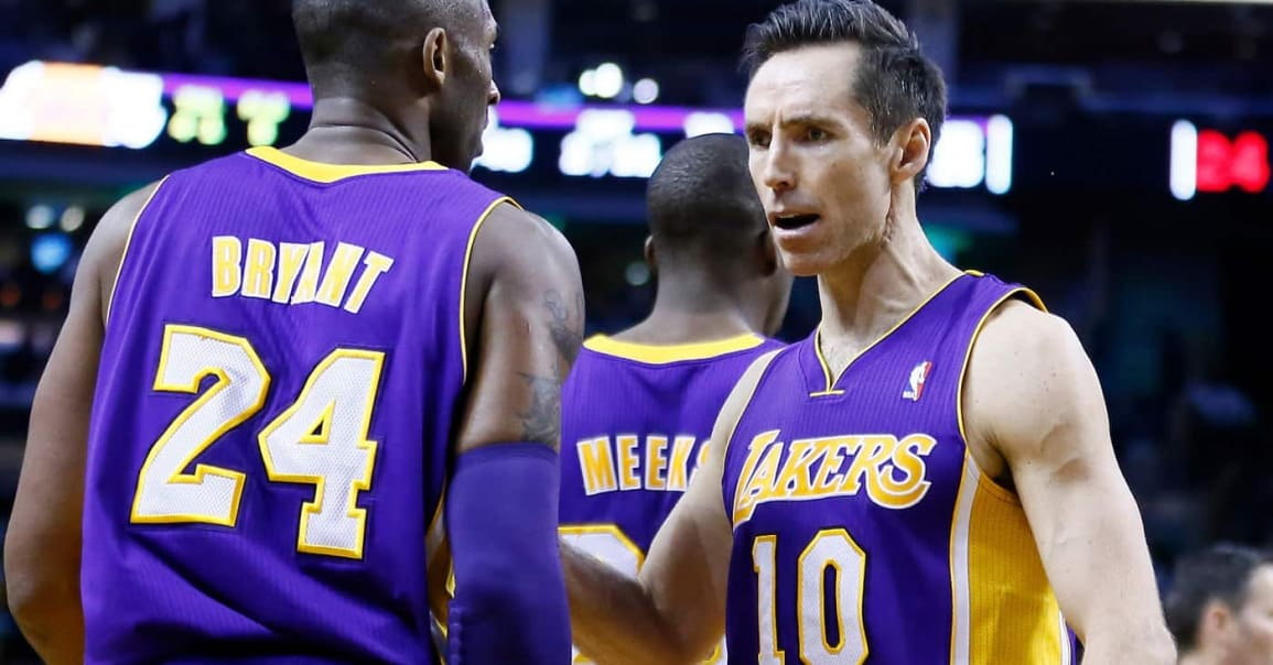 Steve Nash «Aux Lakers, c'était voué à l'échec»