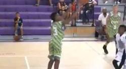 Bryce, le fils cadet de LeBron James, est un super shooteur