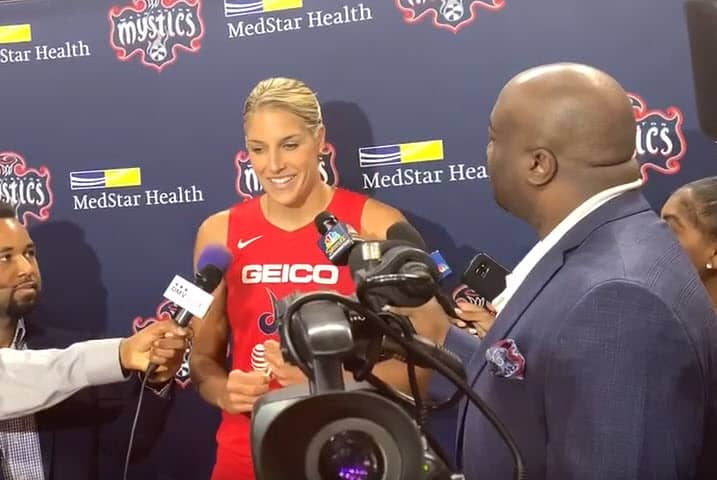 Elena Delle Donne élue MVP de WNBA