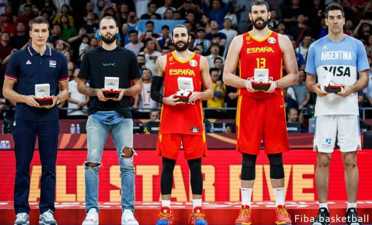 Ricky Rubio MVP, Evan Fournier dans le meilleur 5 du Mondial