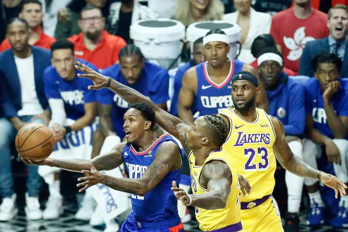 Les Clippers décrochent la première bataille de Los Angeles