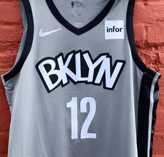 Les Nets dévoilent un nouveau maillot… gris