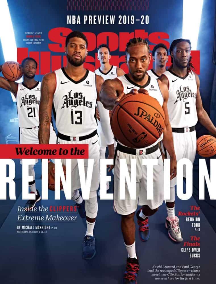 Les Clippers dévoilent leur nouveau maillot 'City' !