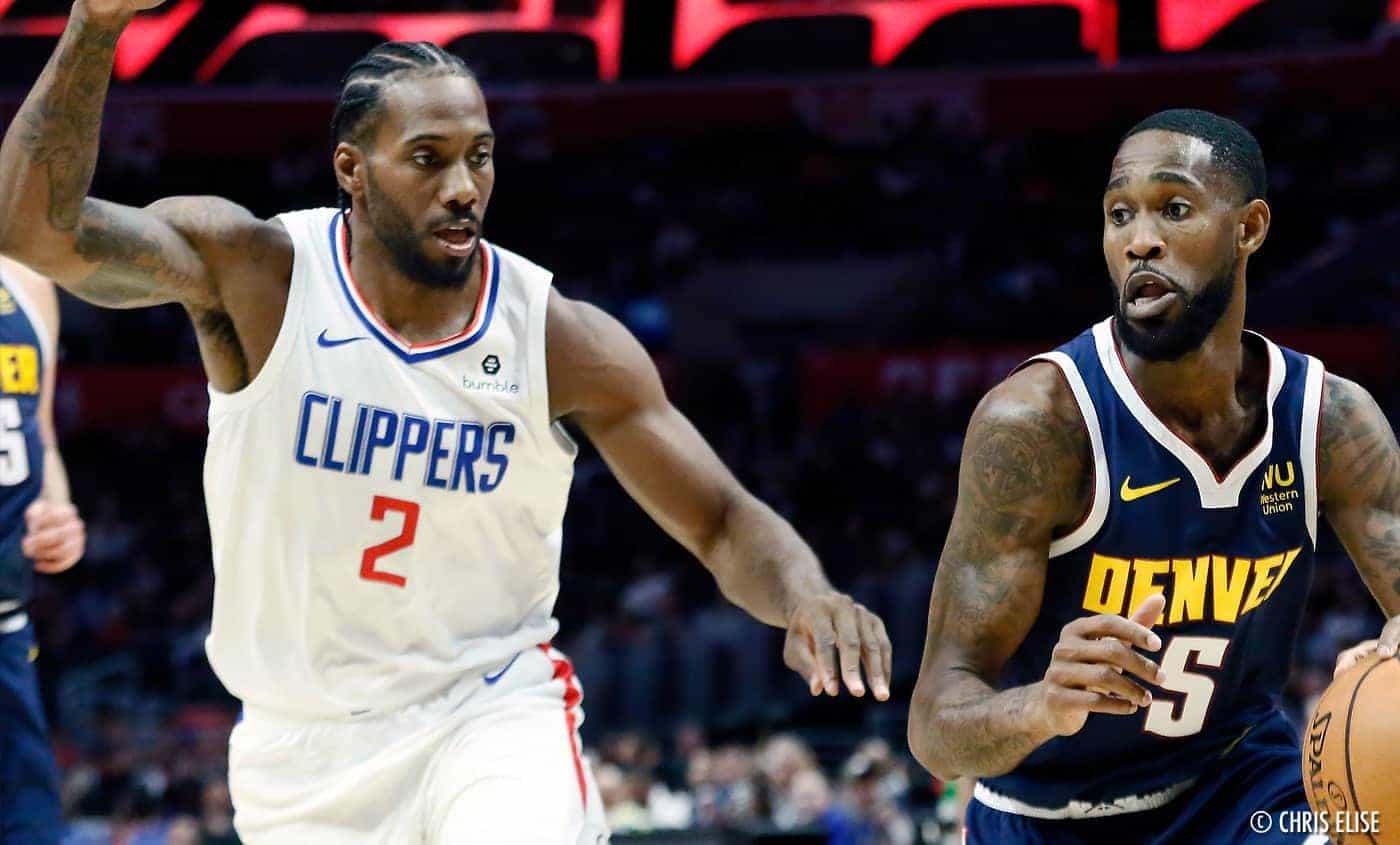Les Nuggets douchent les Clippers pour la première de Kawhi Leonard