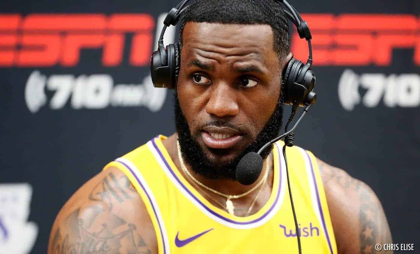 LeBron «énerve beaucoup de ses amis» quand il joue à NBA2K