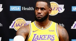 LeBron James tente de calmer la hype autour des Lakers