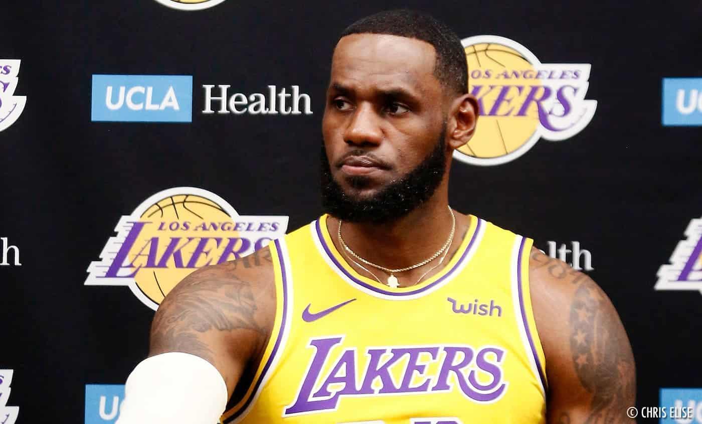 LeBron James tente de calmer la hype autour des Lakers