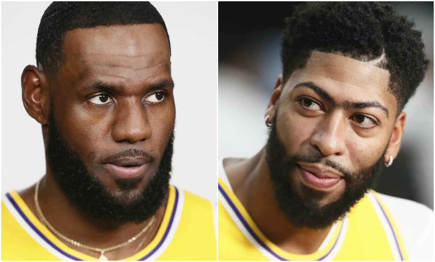 LeBron James et Anthony Davis démarrent fort