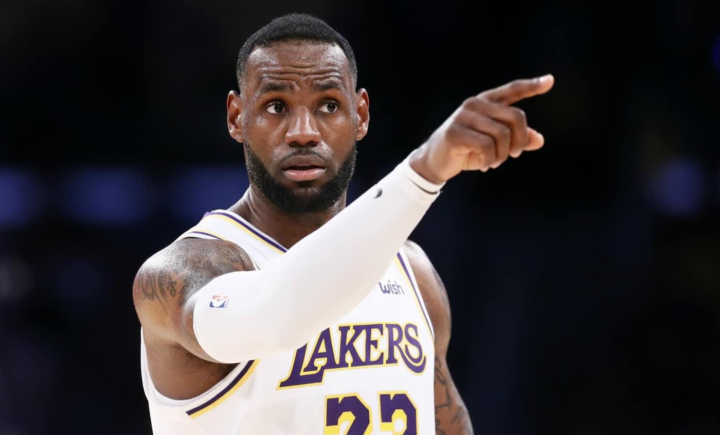LeBron James Jimmy Butler NBA MVP All-Star Game 2020