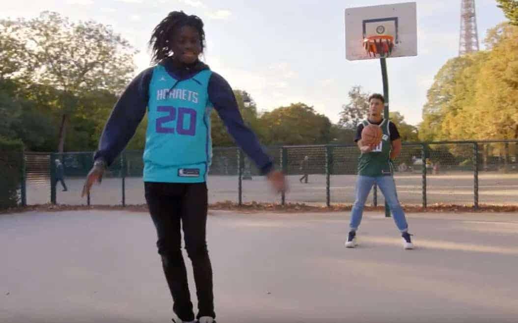 NBA Paris Game 2020 : Salif Lasource et Brisco font monter la sauce