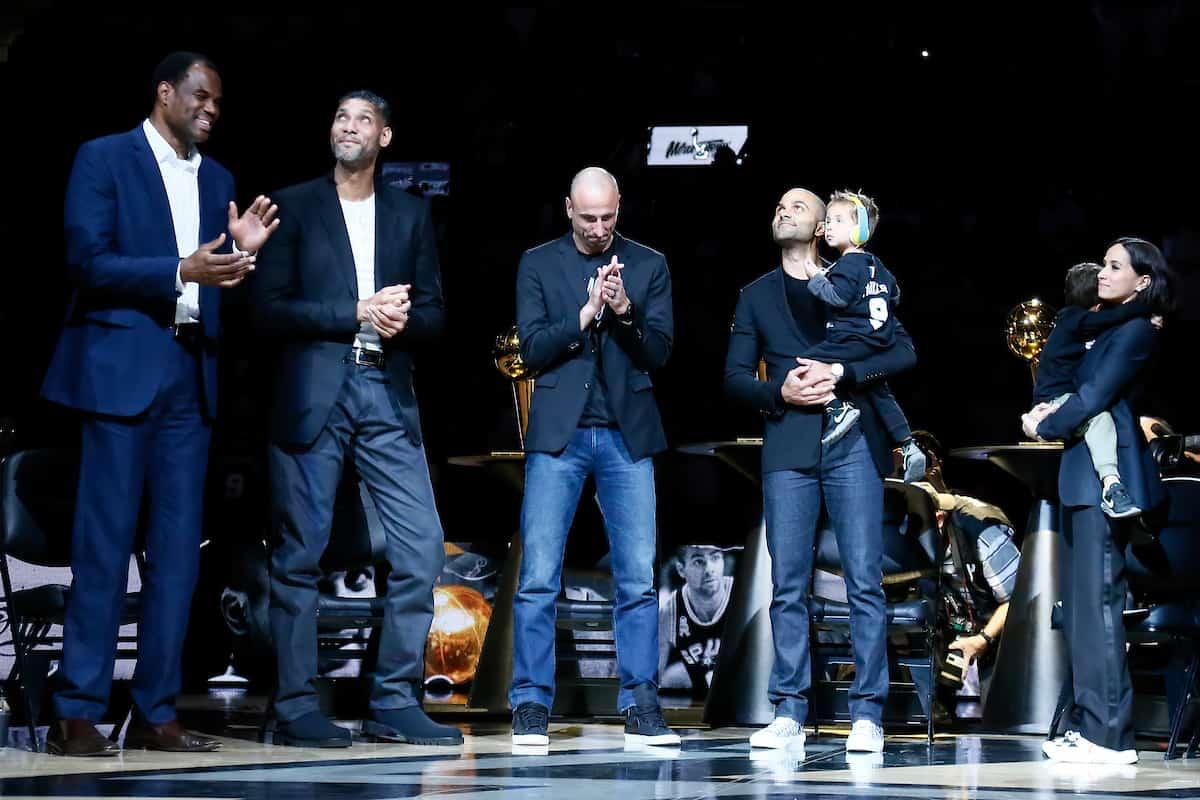 Tony Parker rend un bel hommage à Ginobili et Duncan