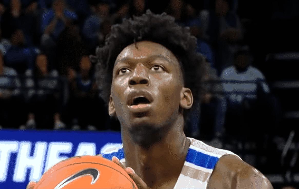 C'est confirmé, James Wiseman ne peut pas rejouer en NCAA