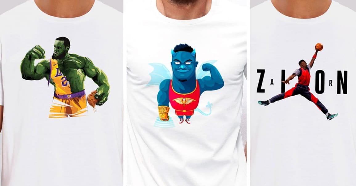 Les meilleurs t-shirts basket du moment !