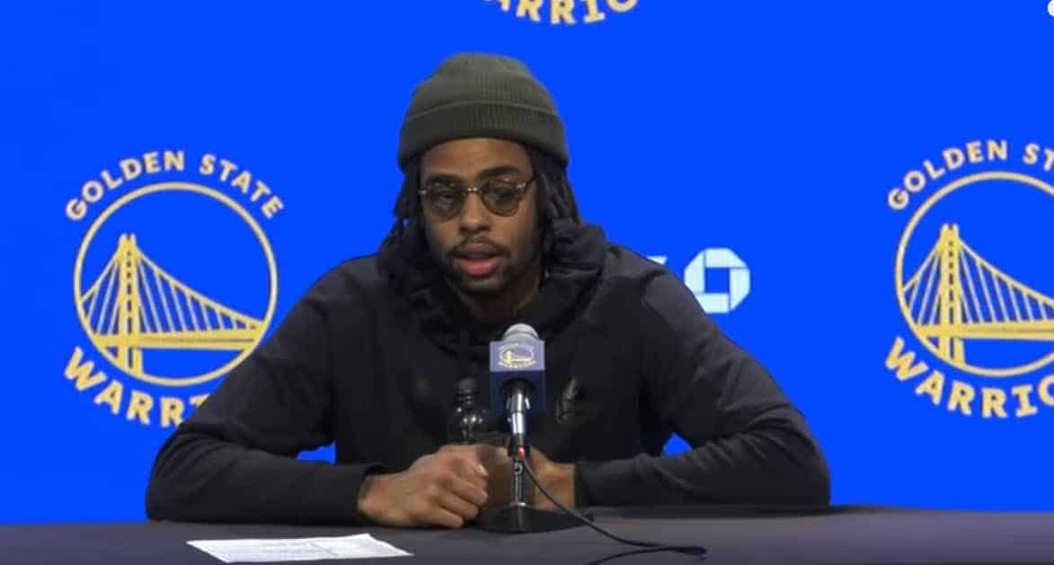 D'Angelo Russell out, l'hécatombe se poursuit à Golden State